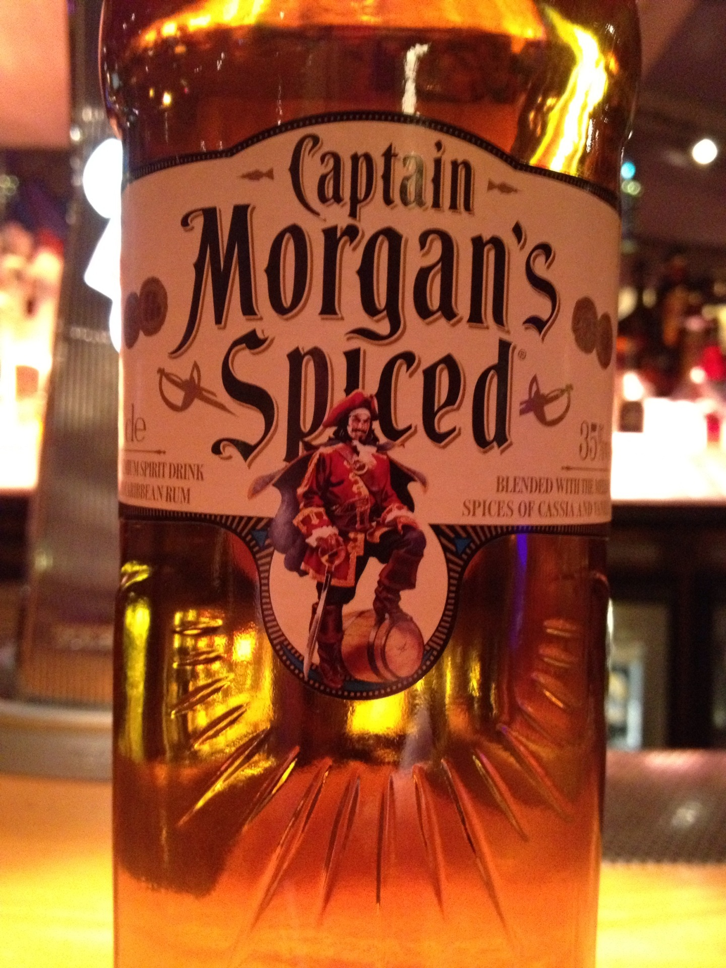 Captain Morgan Black Label And Spiced Tasting Notes