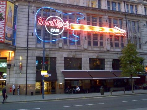 Hard Rock Cafe Printworks Manchester Menu