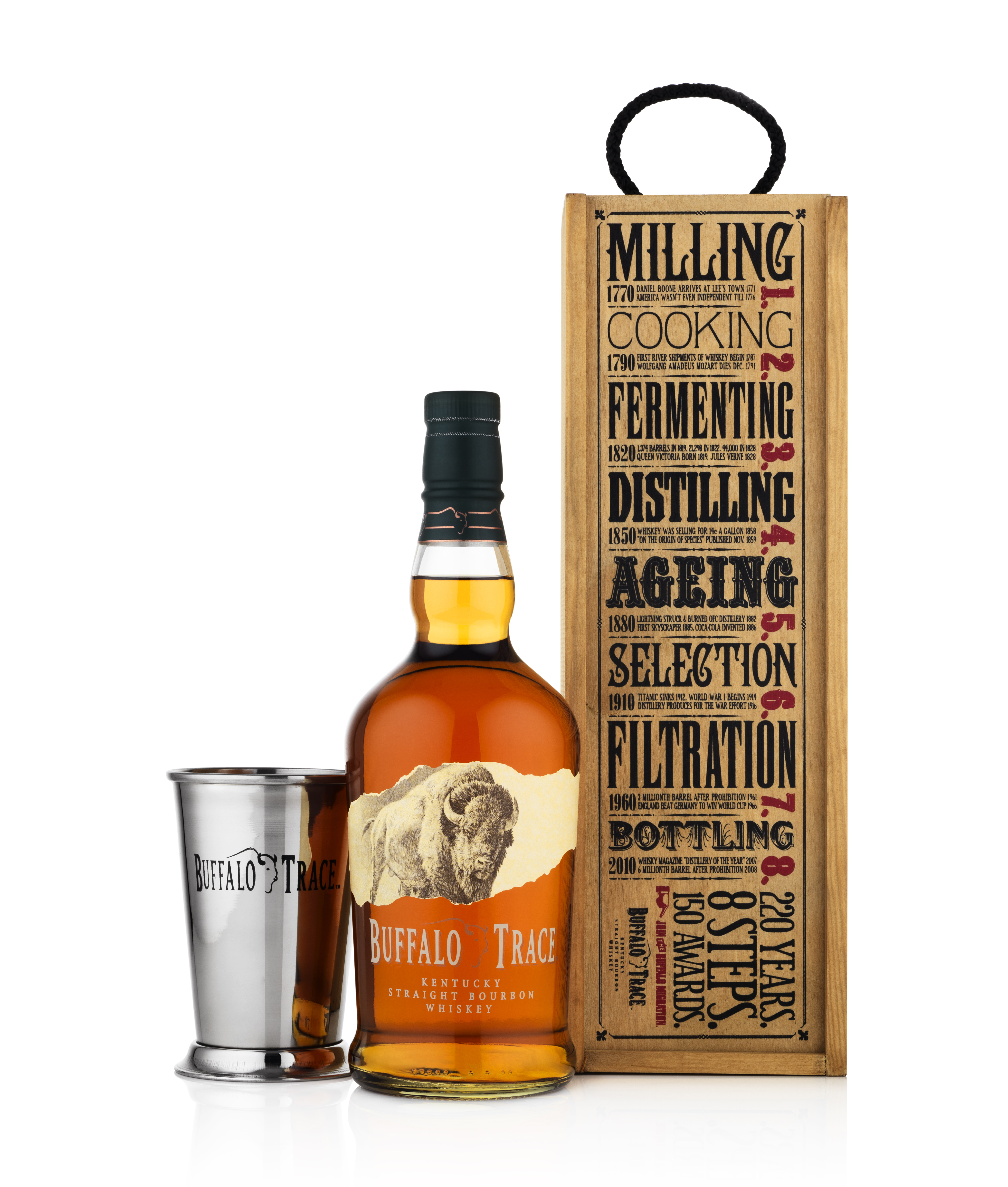 Limited Edition Gift Box From Buffalo Trace Bourbon This