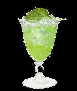 Cointreau Fizz Cucumber Basil