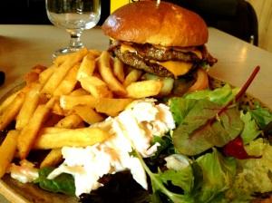 Burger at Home Sweet Home
