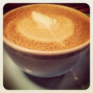 Cappuccino at North Tea Power