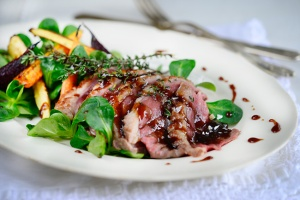 Roasted Duck with Xanté Sauce