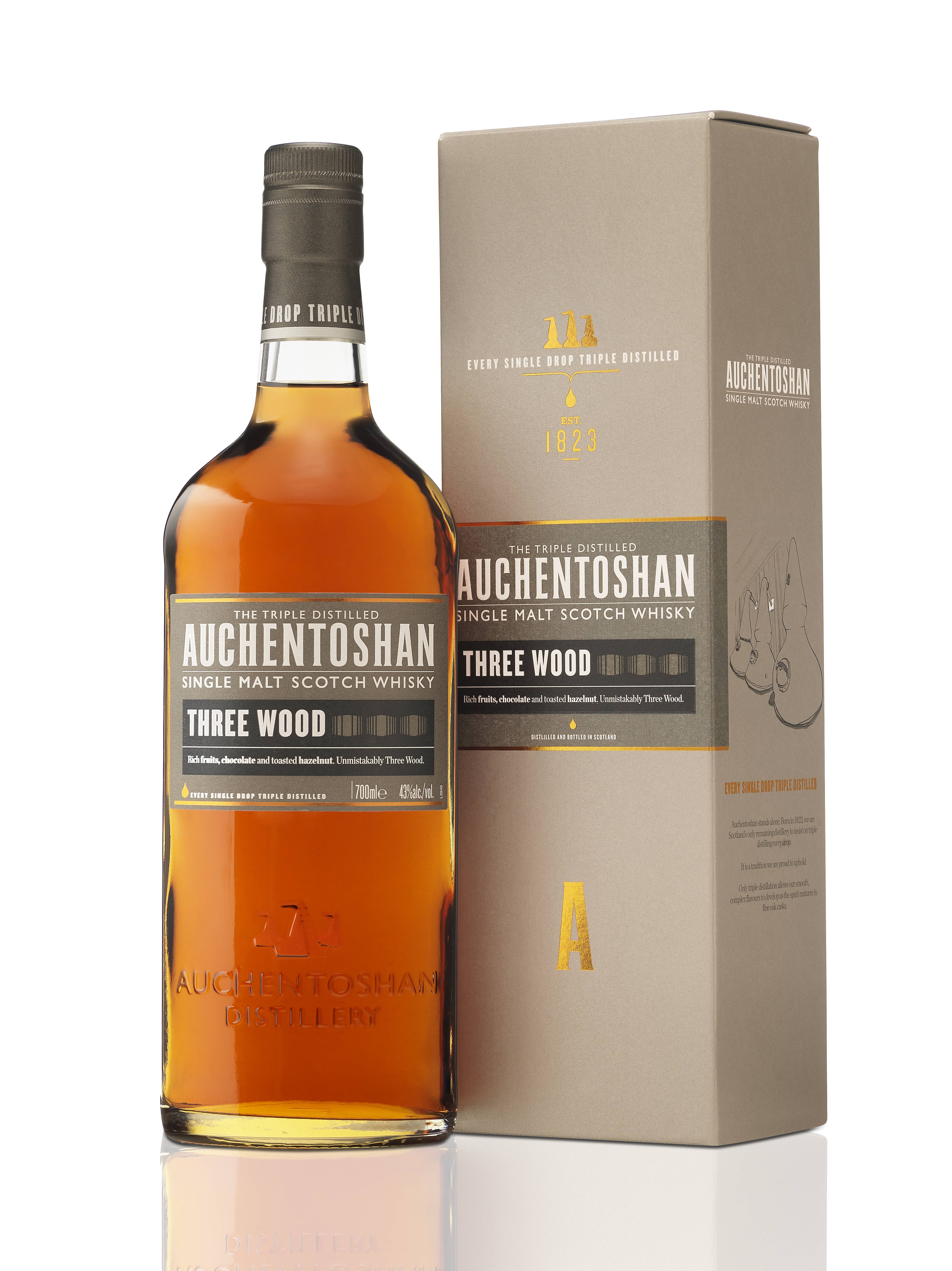 New Look Packaging For Auchentoshan 12 Years Old And