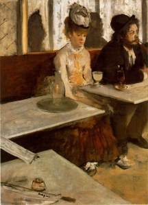 Edgar Degas' 1876 painting L'Absinthe