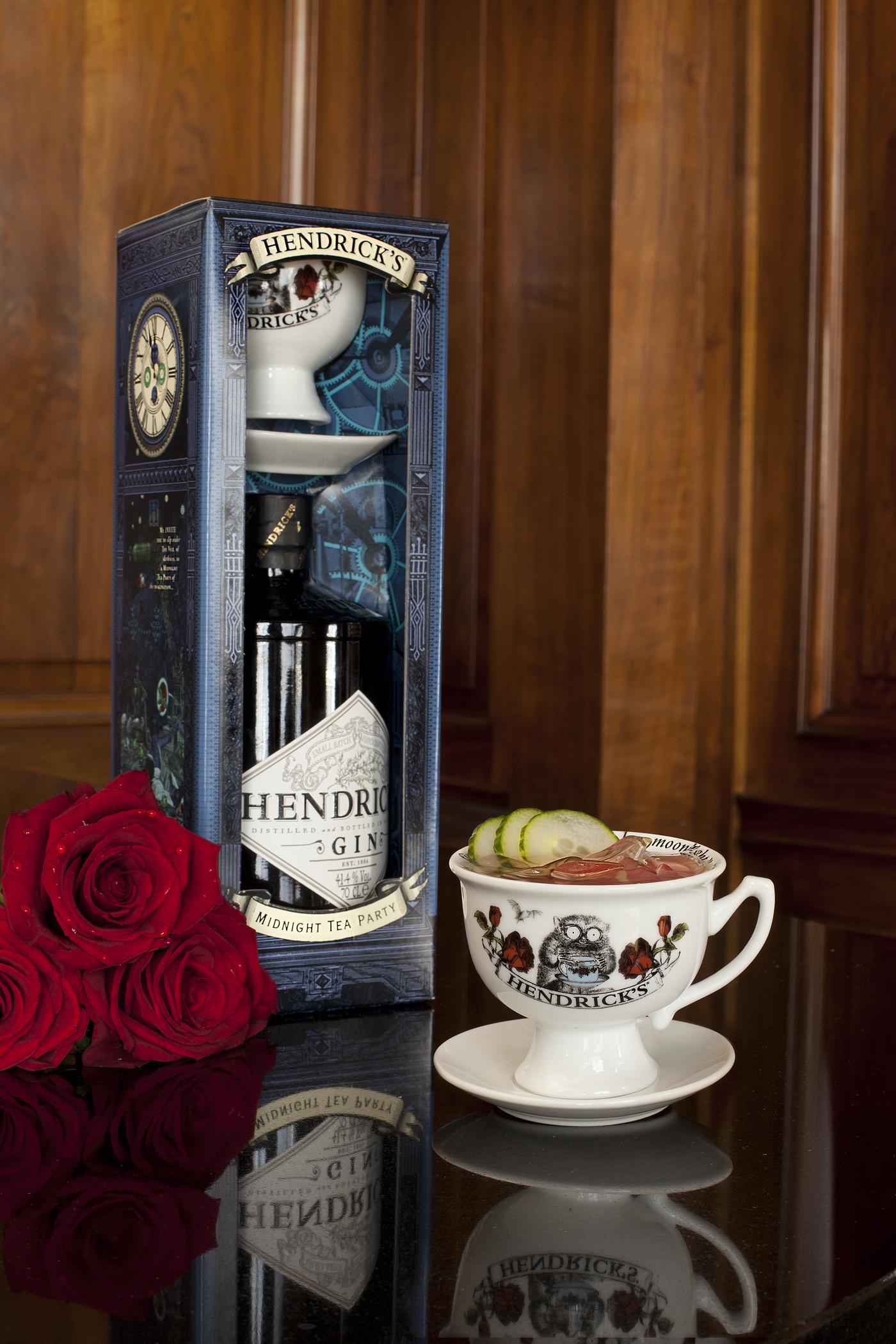 Hendrick S Gin Midnight Tea Party Pack Drinks Enthusiast