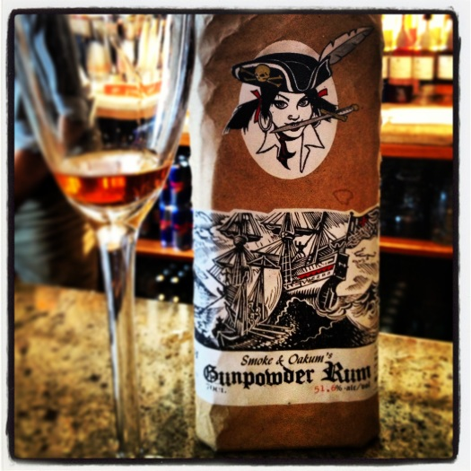 Smoke & Oakum's Gunpowder Rum