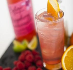 Long Raspberry Cosmo