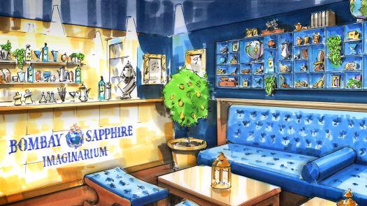 Bombay Sapphire Imaginarium at Callooh Callay May 2014