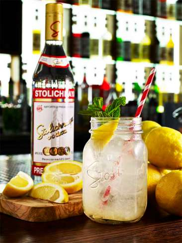 Stoli Lemonade Original BS