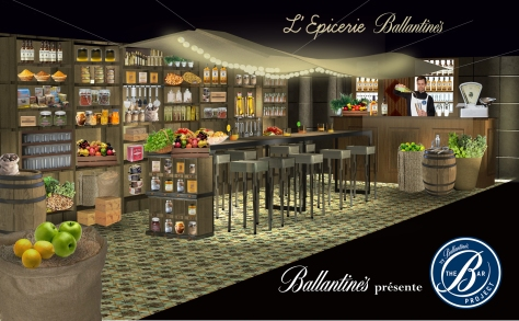 Ballantines The Bar Project - winning concept