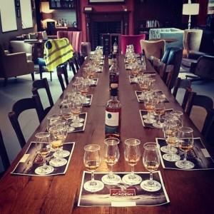 Tasting the range within the Irish Whiskey Academy