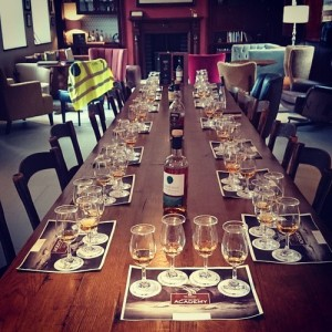 Tasting the range within the Irish Whiskey Academy