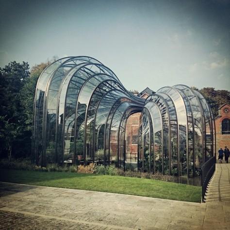 Bombay Sapphire Glasshouses