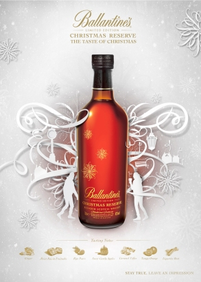 Ballantine's Reserve - The Taste of Christmas