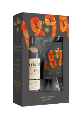 The Glenlivet 12YO Limited Edition EOY Gift Pack