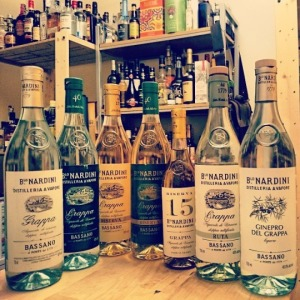 The Nardini Grappa Expressions