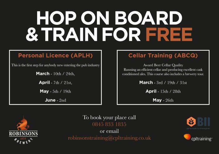 Hospitality Training courses & dates