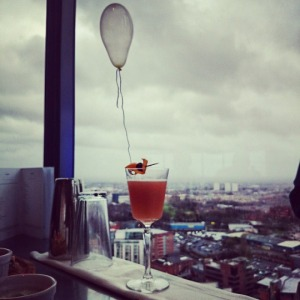 Up, Up and Away with Tanqueray 10 and Cloud 23