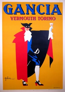 The famous 'Vermouth Bianco' poster