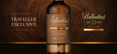 Ballantine's 21 Year Old Signature Oak - Beauty Shot