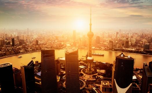 Chivas Masters 2016 - Shanghai skyline
