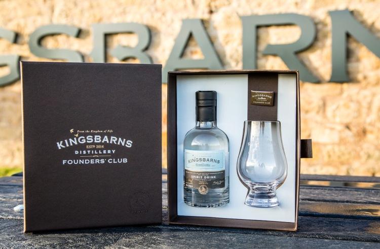 Kingsbarns Distillery  Founders' Club Welcome Pack