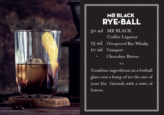 Mr Black Rye Ball