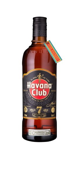 Havana Club 7 bottle