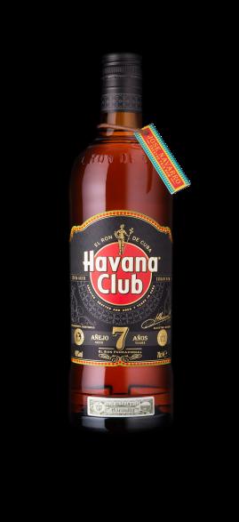 Havana Club 7 bottle