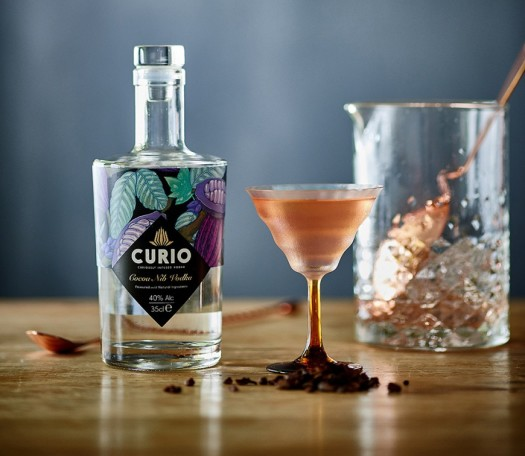 Curio Chocolate Orange Martini