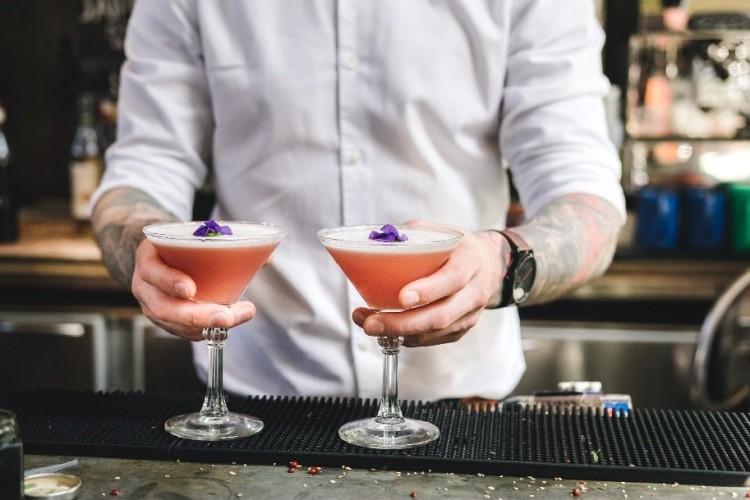 Poppy & Pomegranate Martini 2