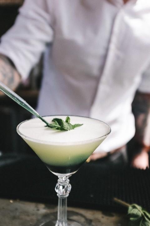 Velvet Green Martini