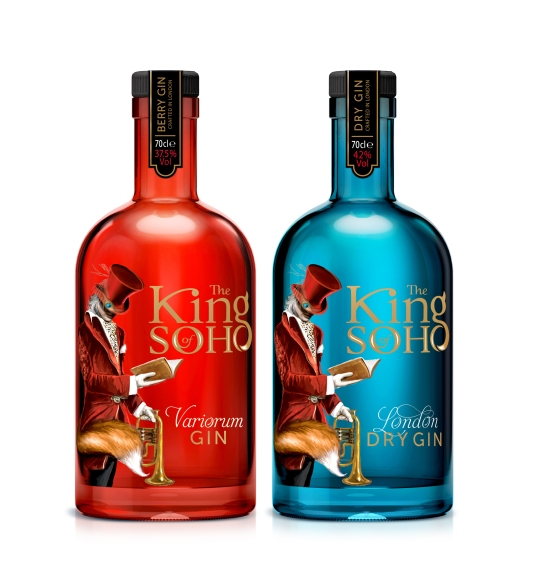 The King of Soho Variorium and Original