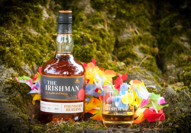 launch of the Irishman Founders Reserve Caribbean Cask Finish