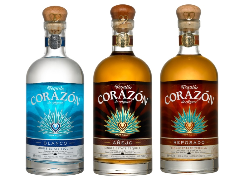 Corazon tequilas