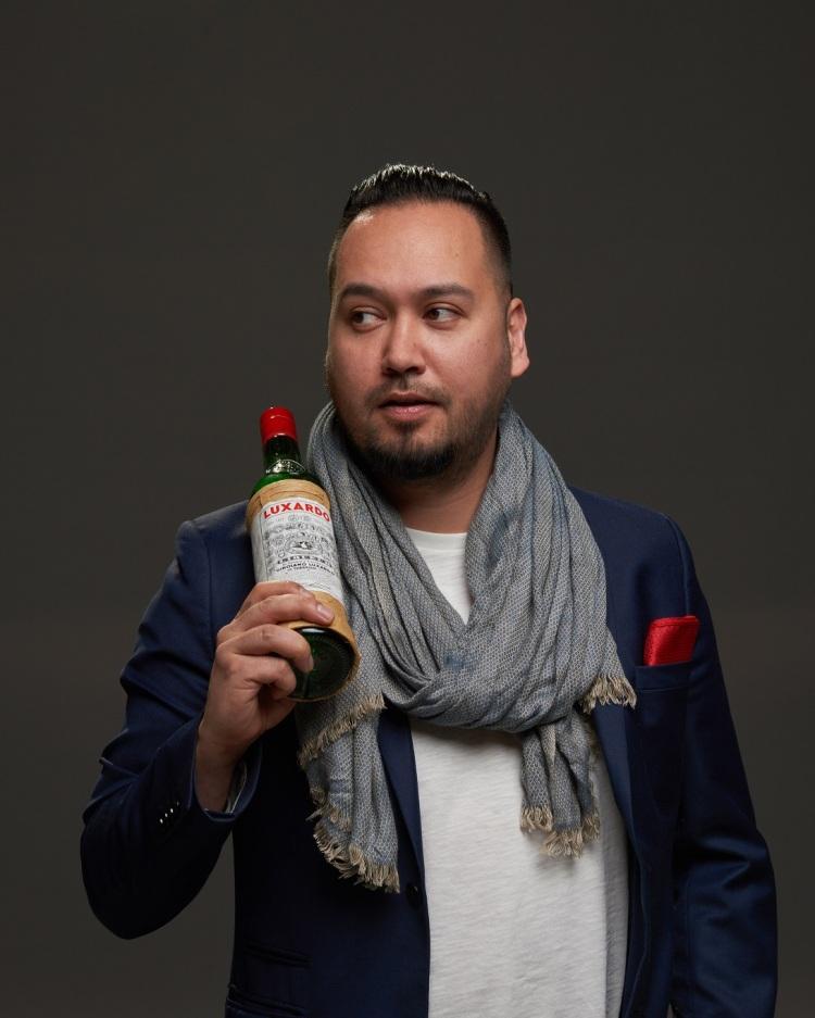 Gareth Franklin, global brand ambassador Luxardo Lo